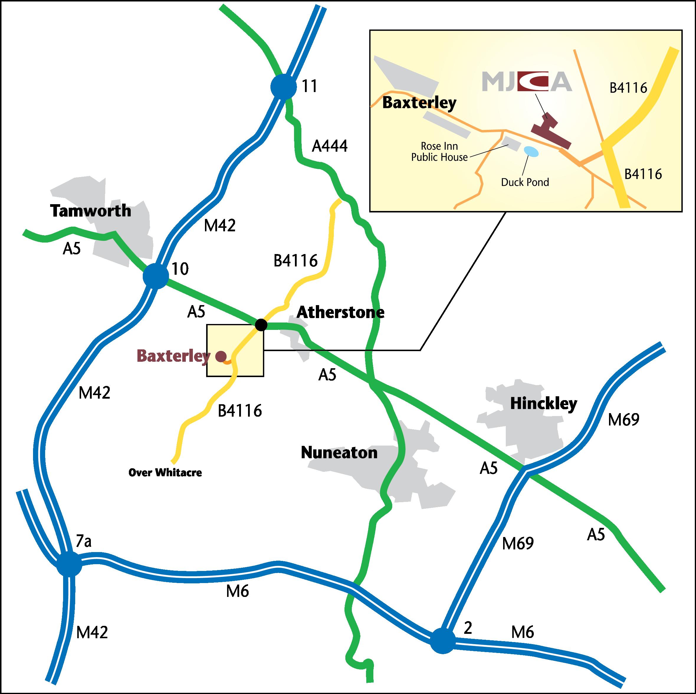 MJCA Map